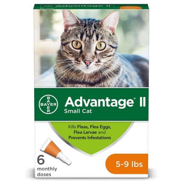 Bayer Advantage II Flea Treatment for Small Cats