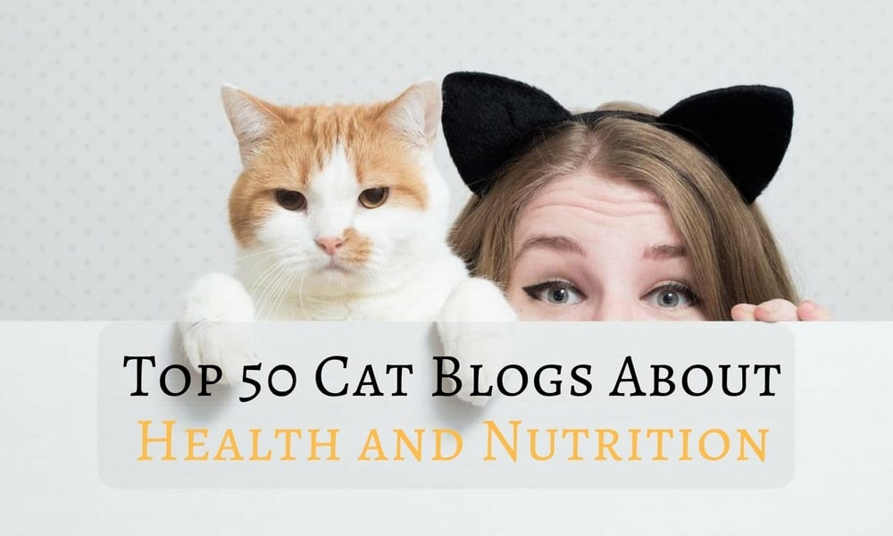Top 50 Cat Blogs About Health and Nutrition